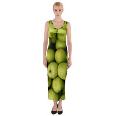 Apples 3 Fitted Maxi Dress