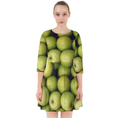 Apples 3 Smock Dress