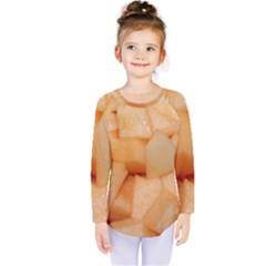 Cantaloupe Kids  Long Sleeve Tee