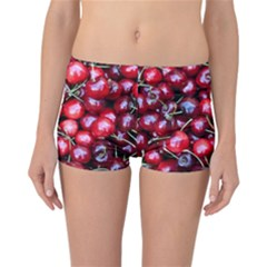 Cherries 1 Reversible Boyleg Bikini Bottoms