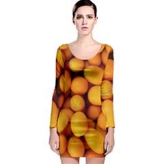 Kumquat 1 Long Sleeve Bodycon Dress