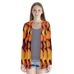 Kumquat 1 Drape Collar Cardigan
