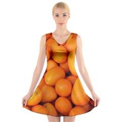 Kumquat 2 V Neck Sleeveless Skater Dress