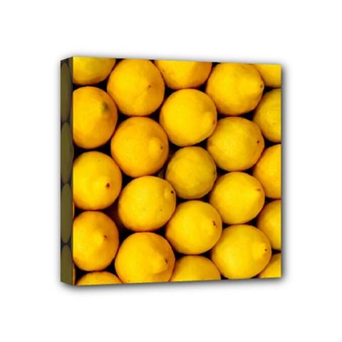 Lemons 2 Mini Canvas 4  X 4