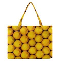Lemons 2 Zipper Medium Tote Bag