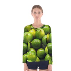 Limes 1 Women s Long Sleeve Tee