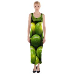 Limes 1 Fitted Maxi Dress