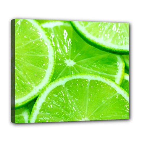 Limes 2 Deluxe Canvas 24  X 20
