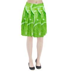 Limes 2 Pleated Skirt
