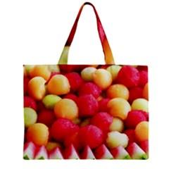 Melon Balls Zipper Mini Tote Bag