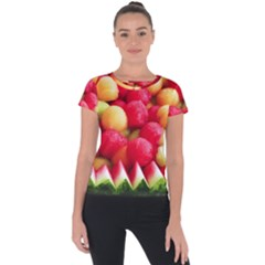 Melon Balls Short Sleeve Sports Top