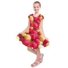Melon Balls Kids  Short Sleeve Dress