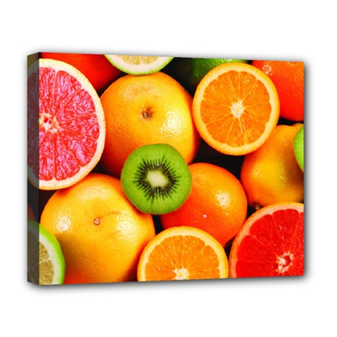 Mixed Fruit 1 Deluxe Canvas 20  X 16