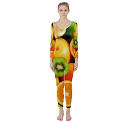 Mixed Fruit 1 Long Sleeve Catsuit
