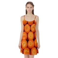 Oranges 1 Satin Night Slip