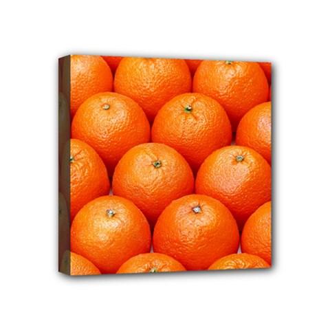 Oranges 2 Mini Canvas 4  X 4