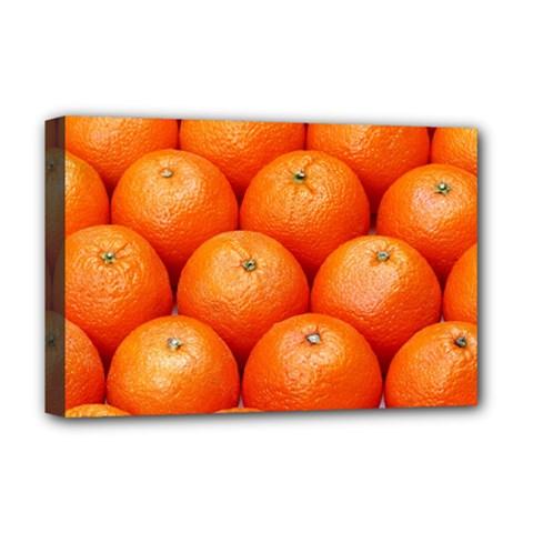 Oranges 2 Deluxe Canvas 18  X 12