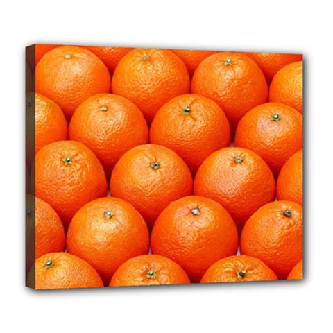 Oranges 2 Deluxe Canvas 24  X 20