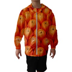 Oranges 2 Hooded Wind Breaker (kids)