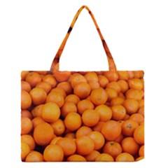 Oranges 3 Zipper Medium Tote Bag