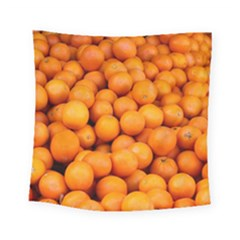 Oranges 3 Square Tapestry (small)