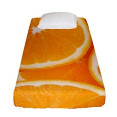 Oranges 4 Fitted Sheet (single Size)