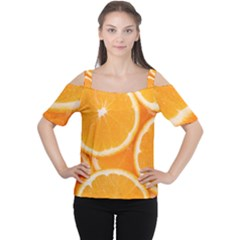 Oranges 4 Cutout Shoulder Tee