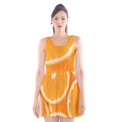 Oranges 4 Scoop Neck Skater Dress