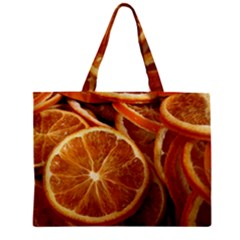 Oranges 5 Zipper Mini Tote Bag