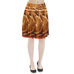 Oranges 5 Pleated Skirt