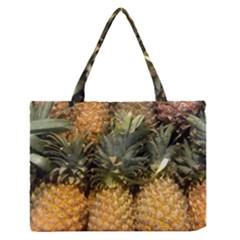 Pineapple 1 Zipper Medium Tote Bag