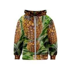Pineapple 2 Kids  Zipper Hoodie