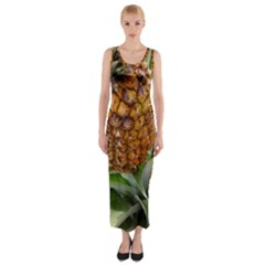 Pineapple 2 Fitted Maxi Dress