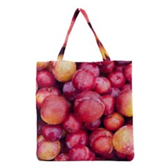 Plums 1 Grocery Tote Bag