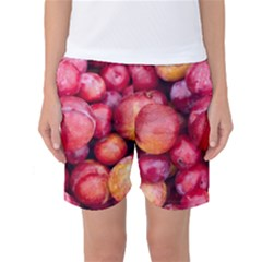 Plums 1 Women s Basketball Shorts
