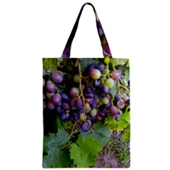 Grapes 2 Zipper Classic Tote Bag