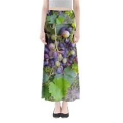 Grapes 2 Full Length Maxi Skirt