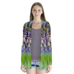 Grapes 2 Drape Collar Cardigan