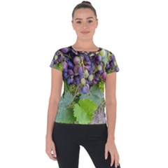 Grapes 2 Short Sleeve Sports Top