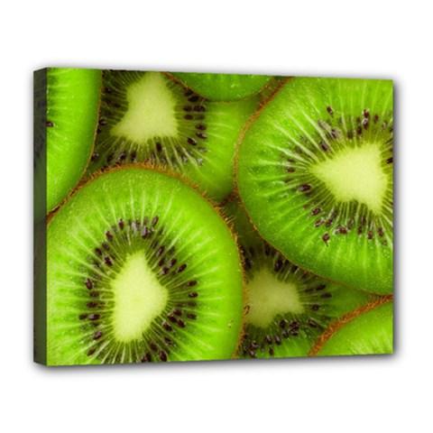 Kiwi 1 Canvas 14  X 11