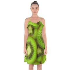 Kiwi 1 Ruffle Detail Chiffon Dress