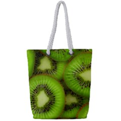 Kiwi 1 Full Print Rope Handle Tote (small)