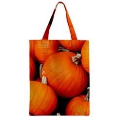 Pumpkins 1 Zipper Classic Tote Bag