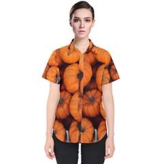 Pumpkins 2 Women s Short Sleeve Shirt
