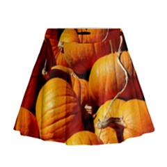 Pumpkins 3 Mini Flare Skirt