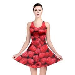 Raspberries 2 Reversible Skater Dress