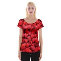 Raspberries 2 Cap Sleeve Tops