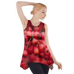 Red Berries 1 Side Drop Tank Tunic