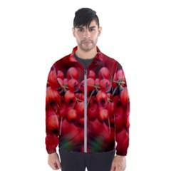 Red Berries 1 Wind Breaker (men)