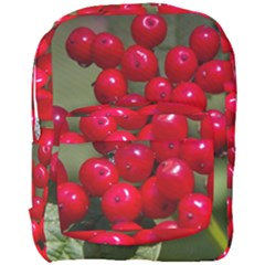 Red Berries 2 Full Print Backpack